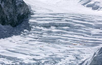 Christian Voigt, 'Kumbu Glacier (Camp I)', 2017