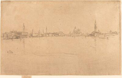 James Abbott McNeill Whistler, 'La Salute: Dawn', 1879/1880