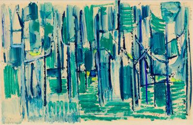 Geer van Velde, 'Composition in blue, green and yellow', ca. 1932