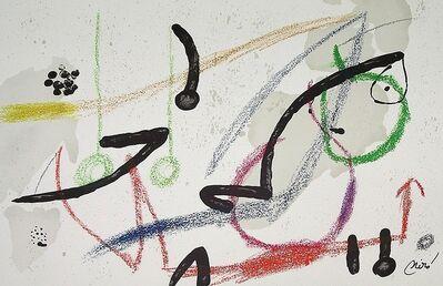 Joan Miró, 'Maravillas con variaciones acrósticas en el jardín de Miró VII', 1975