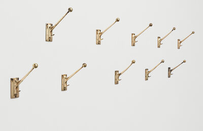 Adolf Loos, 'Set of ten wall hooks, designed for the Kniže haberdashery, Vienna', designed ca. 1909