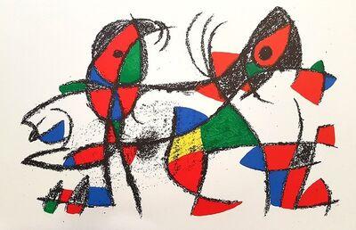 Joan Miró, 'Mirò Lithographe II - Plate X', 1975