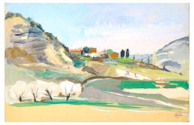 Jacques Ivane-Millérioux, 'The Hill', 1970