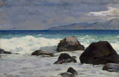 Charles Caryl Coleman, 'Seascape, Capri', 1890