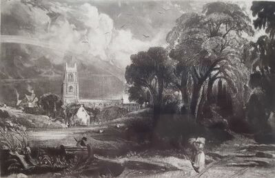 John Constable, 'Stoke by Nayland, Suffolk', ca. 1830
