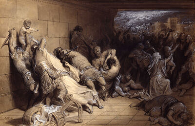 Gustave Doré, 'Massacre of the Innocents ', ca. 1869