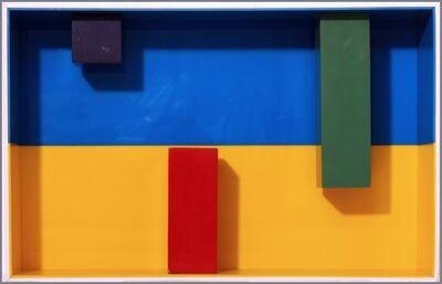 Waldo Balart, 'Modulo de color caliente con modulos de color frio', 1970