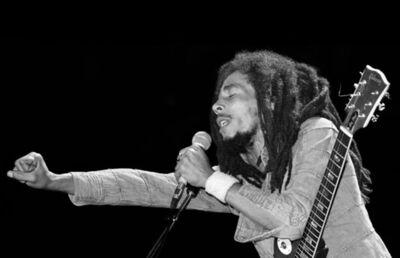 Lynn Goldsmith, 'Bob Marley, Fist Out', 1978