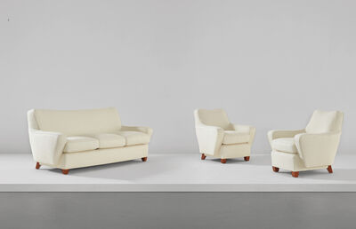 Raphael, 'Sofa and pair of armchairs', 1950s