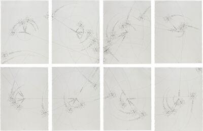 Jorinde Voigt, '8-er Deklination (Rhythmusmaschine / Raumabtastung)', 2008