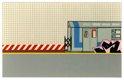 Greg Lamarche, 'Leaving the Station', 2017