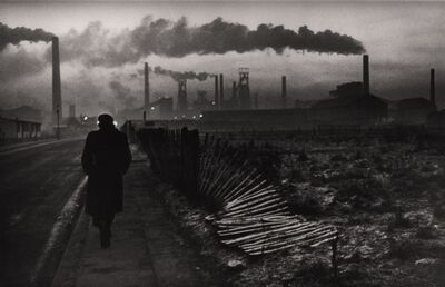 Don McCullin, 'Early morning, steel foundry, West Hartlepool, UK', 1963