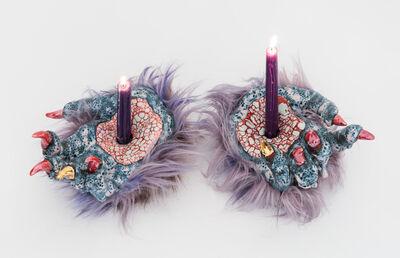 Roxanne Jackson, 'Stigmata Candle Holders', 2018