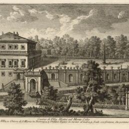 Giuseppe Vasi, 'Casino di Villa Mattei sul Monte Celio', 1747-1801