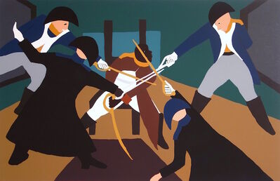 Jacob Lawrence, 'DECEPTION', 1997