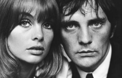 Terry O'Neill, 'Jean Shrimpton and Terence Stamp, London', 1963