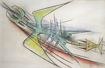 Wifredo Lam, 'Untitled', 1957