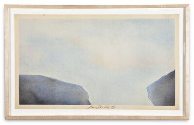 Joe Goode, 'Torn Sky Drawing', 1973