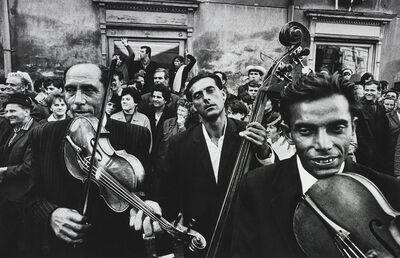 Josef Koudelka, 'Gypsy Musicians at Festival', 1966