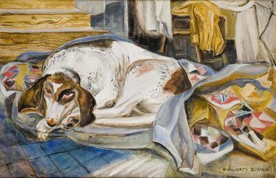 Marguerite Zorach, 'The Old Hound Dog', 1959