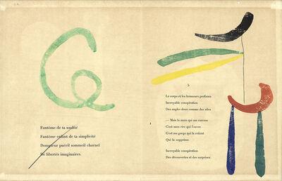 Joan Miró, 'Gravure sur Bois 9'