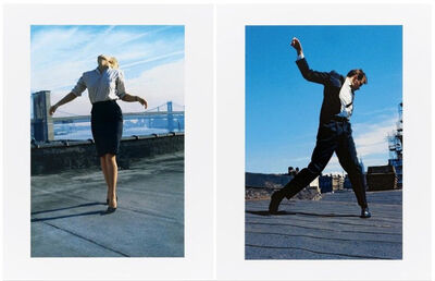 Robert Longo, 'Men in the Cities (Cindy and Eric) 1981', 2014