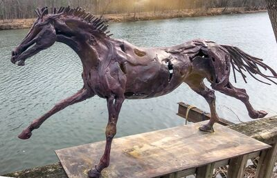 Wendy Klemperer, 'Bronze Racer', 2002-2009