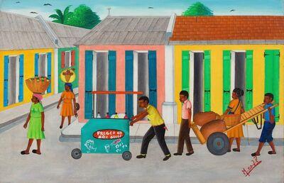 Marcel St. Vil, 'Market Arrival', 1970-1980