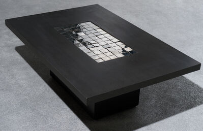 Pol Bury, '72 carrés mirroir (table)', 1990
