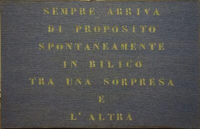 Vincenzo Agnetti, 'Ritratto di inventore ', 1970