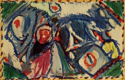 Pierre Alechinsky, 'Le jeu de quatre coins', 1973