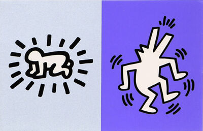 Keith Haring, 'Memorial Tribute Invitation', 1990