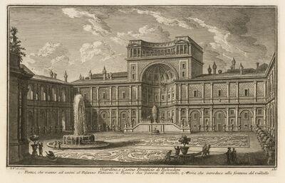 Giuseppe Vasi, 'Giardino, e Casino Pontificio di Belvedere', 1747-1801