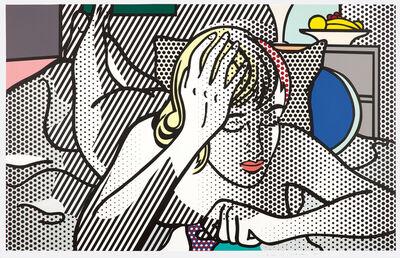 Roy Lichtenstein, 'Thinking Nude, from Nude Series', 1994