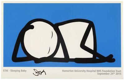 Stik, 'Sleeping Baby (Homerton University Hospital)', 2016