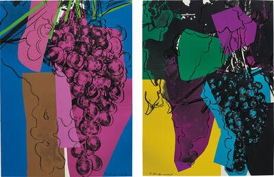 Andy Warhol, '2 works; (i-ii) Grapes', 1979