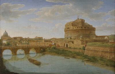 Hendrik Frans van Lint, 'Castel Sant'Angelo', 1721