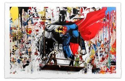 Mr. Brainwash, 'Batman vs Superman ', 2016