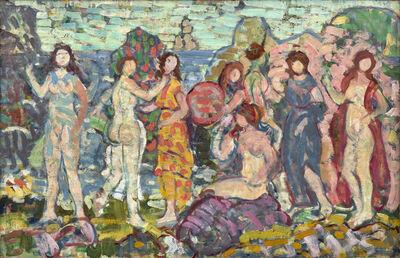 Maurice Brazil Prendergast, 'Bathers', ca. 1912