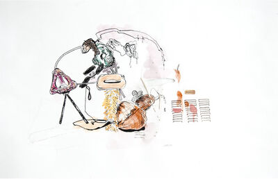 Carmen Neely, 'Tina and Murphey Daydream: one', 2011