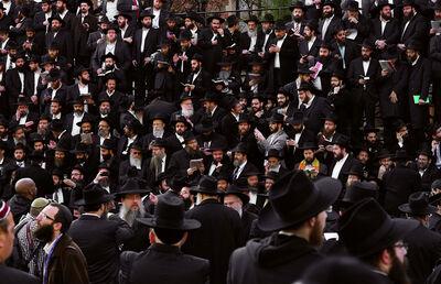 Neal Slavin, 'Convocation, Lubavitcher Rebbe, Brooklyn', 2011
