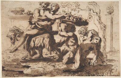 Nicolas Poussin, 'Bacchanal', ca. 1635–1636