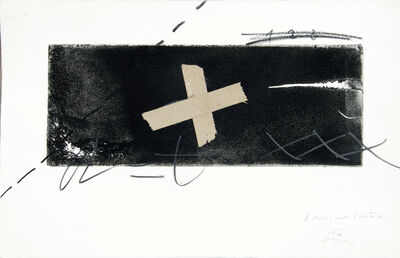 Antoni Tàpies, 'No title', ca. 1980