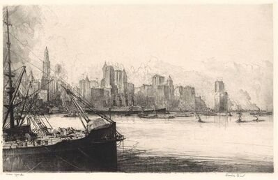 Louis Orr, 'Ports Of America', 1928