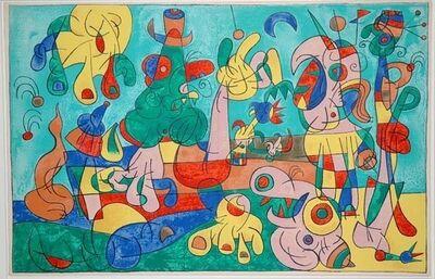 Joan Miró, 'II. Ubu Roi: Le Banquet', 1966