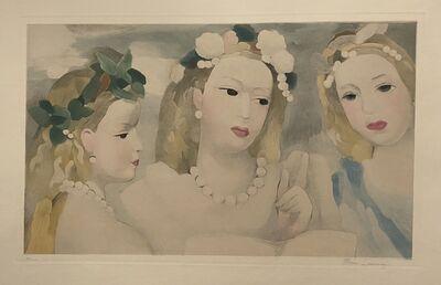 Marie Laurencin, 'Trois Filles', ca. 1950