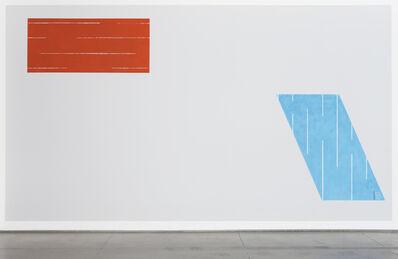 David Tremlett, 'Horizontal & Vertical', 2008