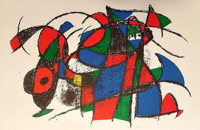 Joan Miró, 'Mirò Lithographe II - Plate III', 1975