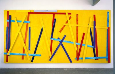 Imi Knoebel, 'Fishing Yellow I', 2008