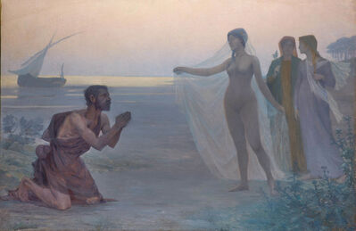 Victor Brugairolles, 'Le Berger et la Mer (The Shepherd and the Sea)', 1895
